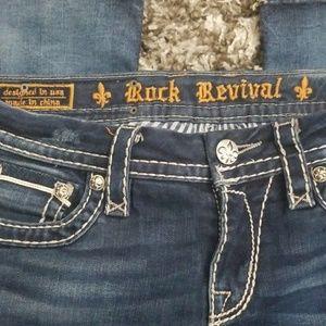 Rock Revival Jeans - Rock Revival Etty Bootcut Jeans Sz 28